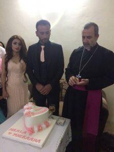 مباركة الخور اسقف فيليبوس حلقات المخطوبين